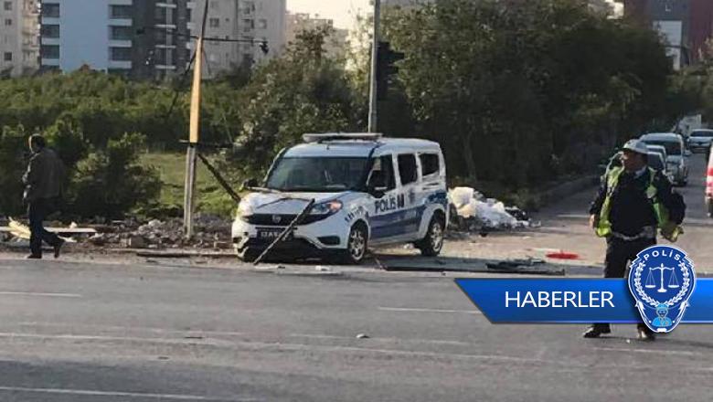 Mersin'de polis aracına bombalı saldırı!