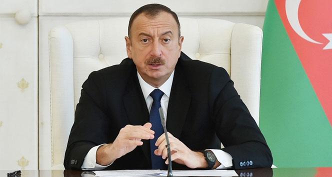 Aliyev'den Erdoğan'a tebrik mesajı