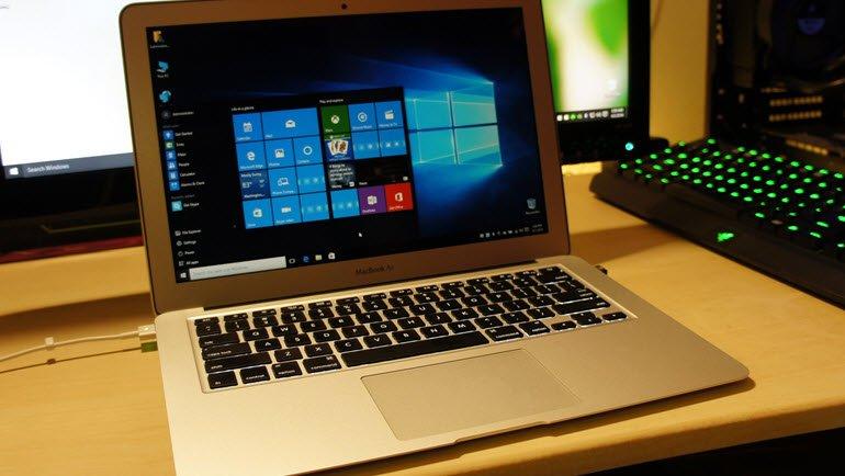 Apple, Windows 10 Yüklemeyi Kolaylaştırdı!