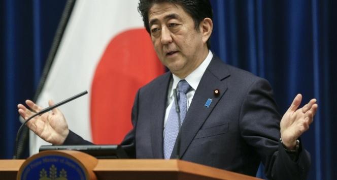 Japonya Başbakanı Abe: Kuzey Kore'nin füze demeleri G7'de görüşülmeli