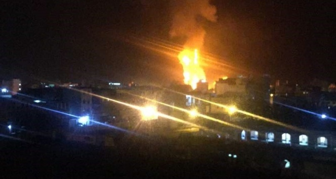 Yemen'de silah deposuna roketli saldırı