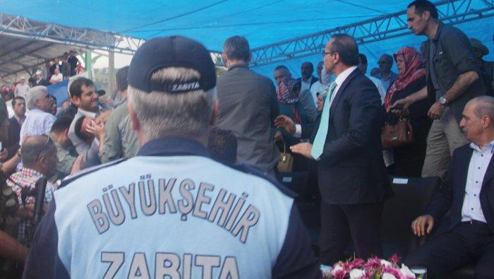 Ordu Belediye Başkanı ve Emniyet Müdürü Arasında Kavga