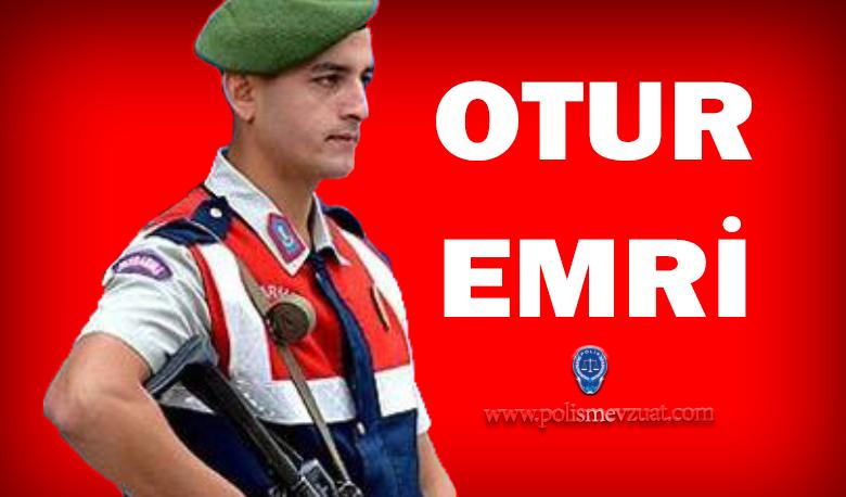 """""""Otur"""" Emrine Uymamaktan Verilen Disiplin Cezası Jandarma"""