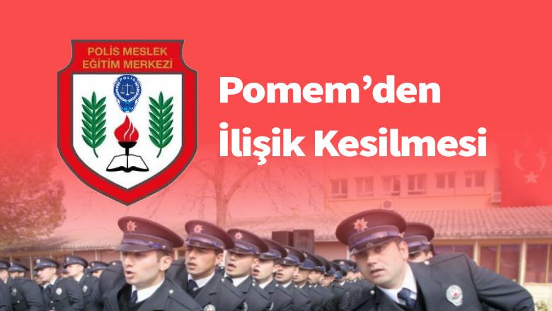 Polis Amirleri Eğitim Merkezinden İlişik Kesilmesi
