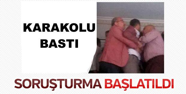 Polise Saldıran CHP'li Belediye Başkanına Soruşturma.