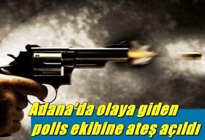 Olaya Giden Polis Ekibine Silahlı Saldırı!