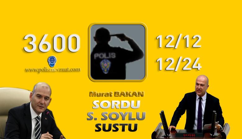 Murat BAKAN Sordu, Süleyman SOYLU Cevap Veremedi