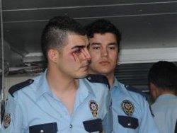 G.Antep'te Polise Saldırı, 2 Polis Yaralı