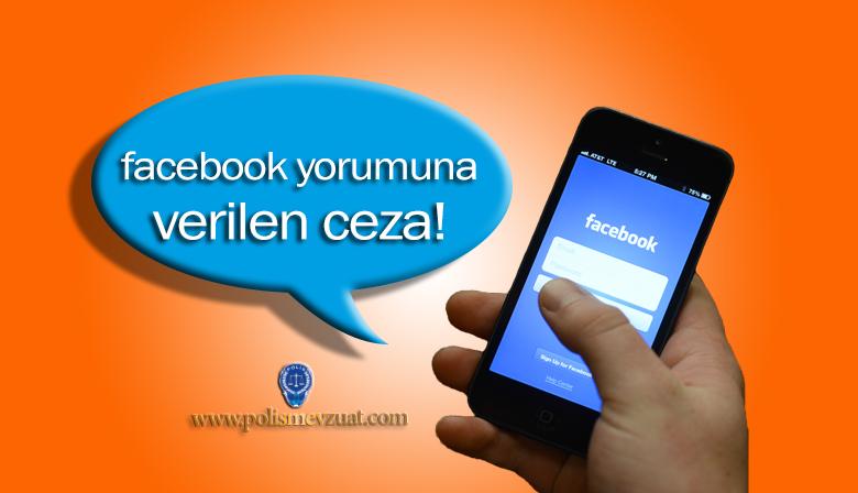 Facebook Yorumuna Verilen Disiplin Cezası
