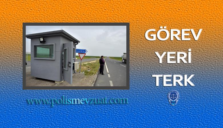 Lavaboya Giden Memura Görev Yeri Terk Cezası