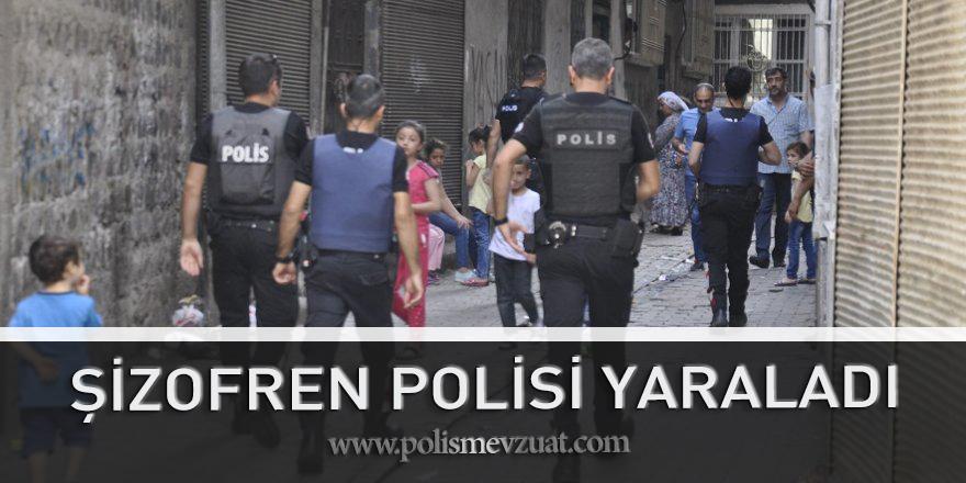Diyarbakır'da Şizofren Hastasından Polise Saldırı