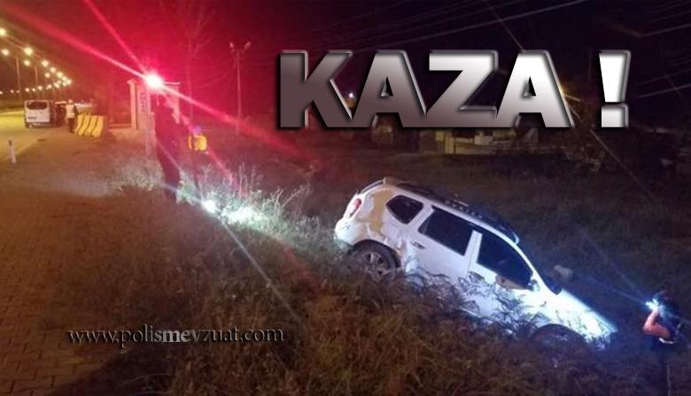 Durmayan Araba Polislere Çarptı. 1 Polis Şehit 1 Polis Yaralı !