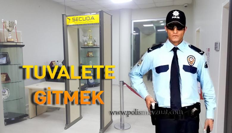 Tuvalete Gittiği İçin Polis Memuruna Görev Yeri Terkten Ceza