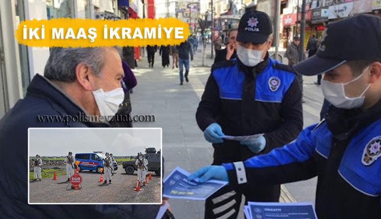 Polis ve Jandarmaya 2 Maaş Ikramiye