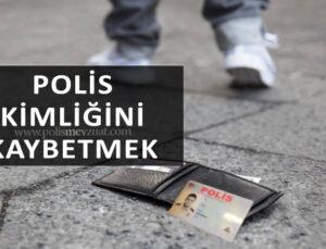 Polis kimliğini /polis tanıtma kartını kaybeden polise verilen cezanın iptali