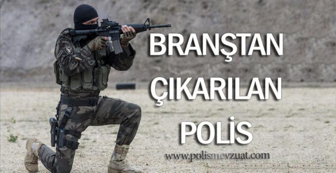 Branştan çıkarılan polisin yeniden branşa dönmesine dair kazanılan karar