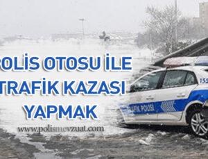 Polis ekip otosu ile kaza yapan polise verilen cezanın iptali