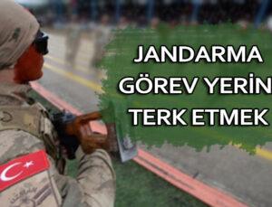 Amirin izni olmaksızın görev yerini terk etmek'ten Jandarma Uzman Onbaşı'ya verilen cezanın iptali