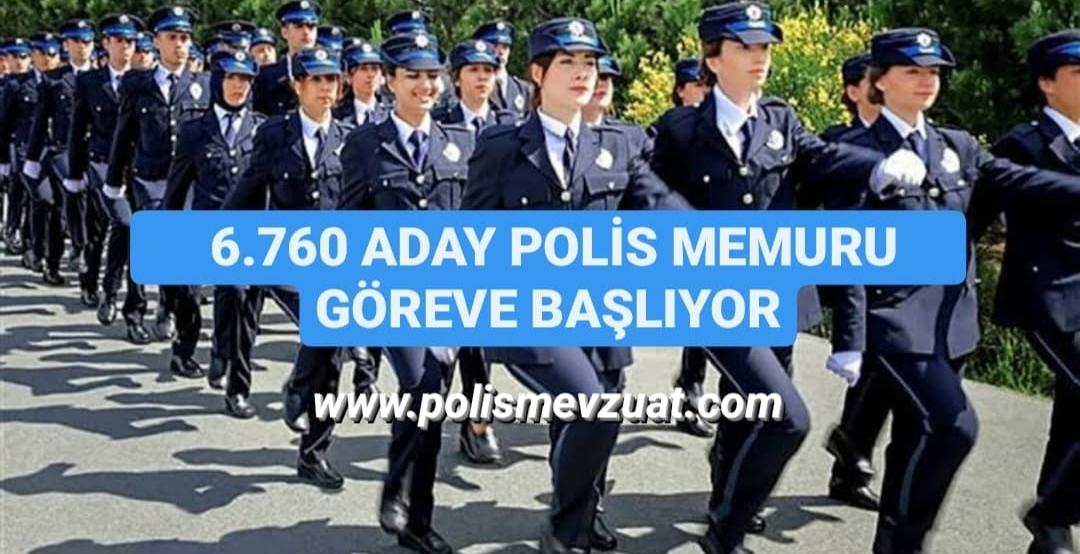 26. dönem pomem eğitim sonu sınavı sonuçları açıklandı. 6.760 aday polis memuru mesleğe başlıyor.