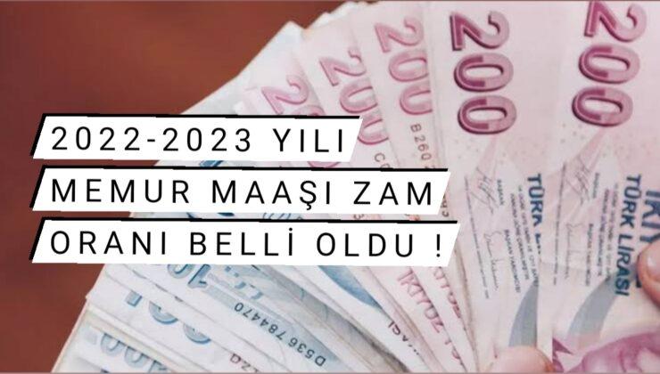 2022 – 2023 yılı memur maaş zammı oranı belli oldu